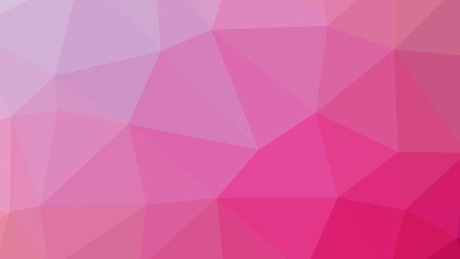 粉色背景图片 柔和粉色多边形ppt背景图片