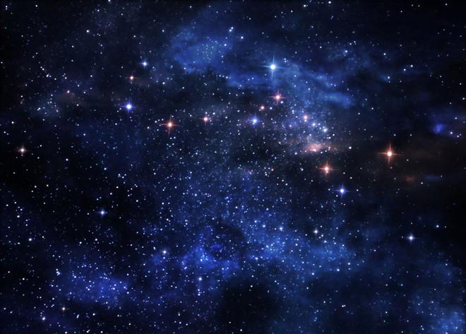 > 宇宙ppt背景图片 蓝色星空星辰宇宙星星ppt背景图片   素材下载