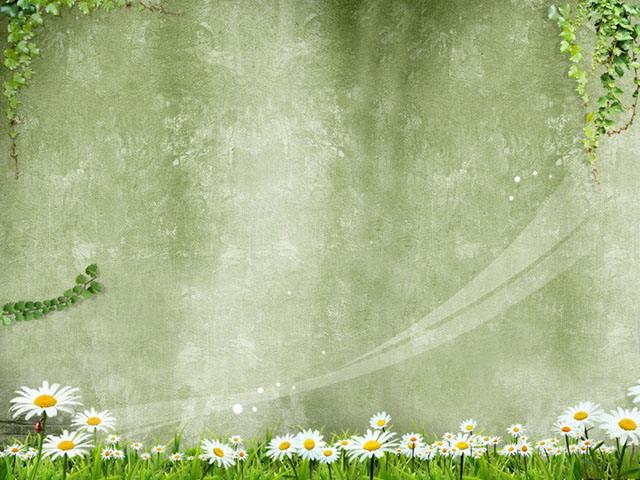 春天主题ppt背景图片 春天的旋律ppt背景图片下载