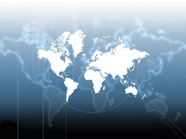 时间地图ppt背景图片 经典世界地图背景商务ppt模板