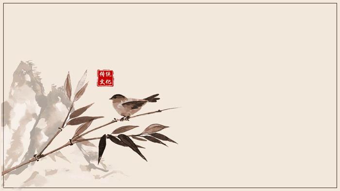 标签:水墨背景图片山水背景图片花鸟背景图片    11张古典水墨中国风