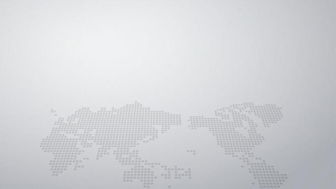 是一张灰色世界地图点阵背景PPT背景图片,第一PPT模板网提供精